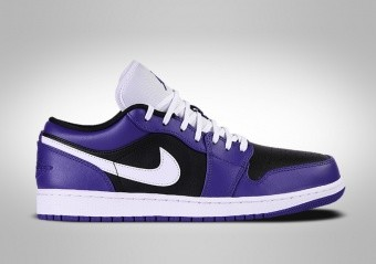 NIKE AIR JORDAN 1 RETRO LOW JOKER PURPLE BLACK