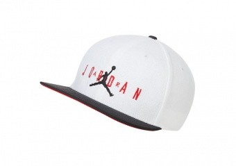 NIKE AIR JORDAN PRO SPORT DNA TERRY CAP WHITE
