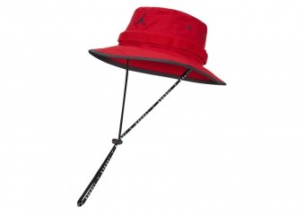 NIKE AIR JORDAN JUMPMAN BUCKET CAP GYM RED