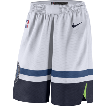 NIKE NBA MINNESOTA TIMBERWOLVES SWINGMAN HOME SHORTS