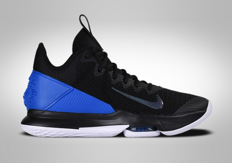 NIKE LEBRON WITNESS IV BLACK BLUE