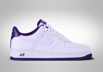 NIKE AIR FORCE 1 LOW '07 WHITE VOLTAGE PURPLE