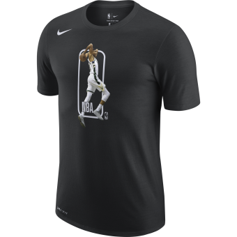 NIKE NBA MILWAUKEE BUCKS PLAYER LOGO DRI-FIT TEE