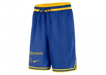 NIKE NBA GOLDEN STATE WARRIORS COURTSIDE SHORTS RUSH BLUE