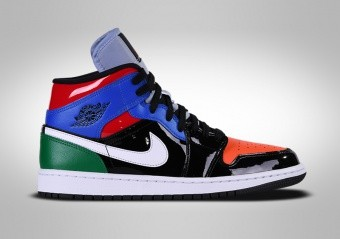 NIKE AIR JORDAN 1 RETRO MID SE WMNS MULTICOLOR