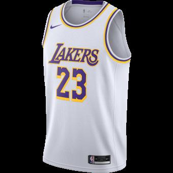 NIKE NBA LOS ANGELES LAKERS ASSOCIATION EDITION SWINGMAN JERSEY