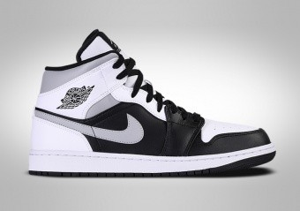 NIKE AIR JORDAN 1 RETRO MID WHITE SHADOW