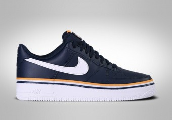NIKE AIR FORCE 1 LOW '07 LV8 OBSIDIAN WHITE GOLD