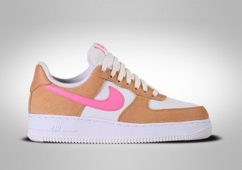 NIKE AIR FORCE 1 LOW '07 WMNS PINK ORANGE