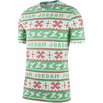 JORDAN UGLY SWEATER CHRISTMAS CREW TEE