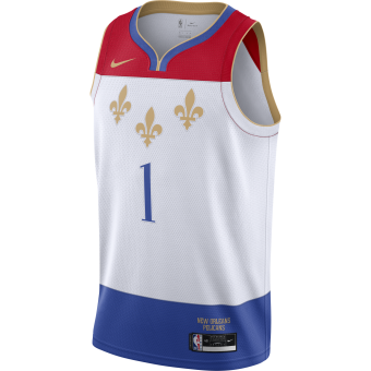 NIKE NBA NEW ORLEANS PELICANS CITY EDITION SWINGMAN JERSEY