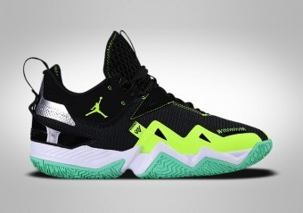 NIKE AIR JORDAN WESTBROOK ONE TAKE BLACK VOLT