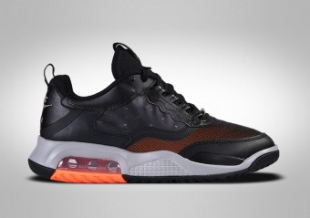 NIKE AIR JORDAN MAX 200 BLACK TOTAL ORANGE