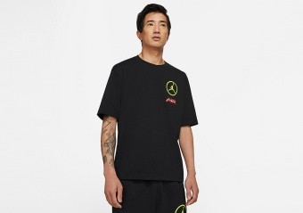 NIKE AIR JORDAN SPORT DNA TEE BLACK