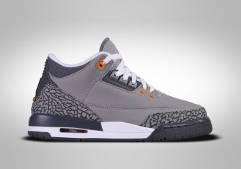 NIKE AIR JORDAN 3 RETRO GS COOL GREY