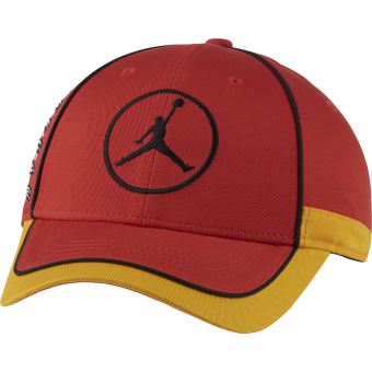 NIKE AIR JORDAN JUMPMAN LEGACY91 AIR CAP CHILE RED