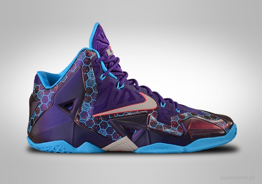NIKE LEBRON XI SUMMIT LAKE HORNETS