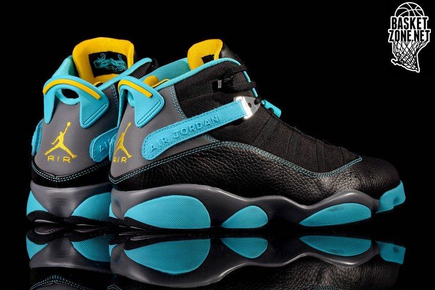 brand new 24547 e2cb6 ... shoes sneaker basketball pure black dark gold a5377 62bba  switzerland nike  air jordan 6 rings gamma blue f4399 178e5
