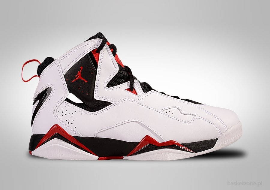NIKE AIR JORDAN TRUE FLIGHT WHITE CHICAGO RED