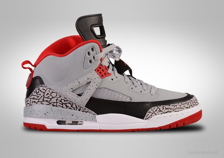 73295b34f9b390 NIKE AIR JORDAN SPIZIKE WOLF GREY GYM RED CEMENT price €152.50 ...