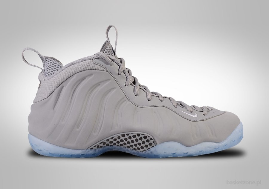 huge discount f2ad5 1ff19 NIKE AIR FOAMPOSITE ONE PRM WOLF GREY SUEDE