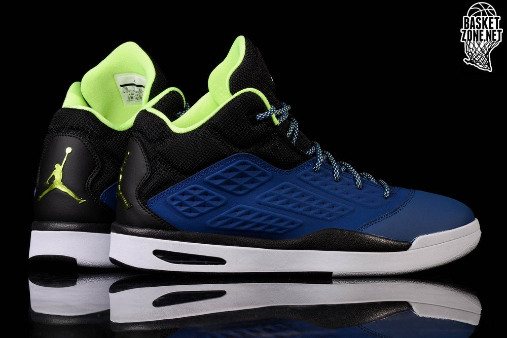419e9344bfb NIKE AIR JORDAN NEW SCHOOL BLACK ROYAL BLUE price €105.00 ...